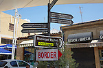 Street & Border Signs