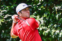 Jon Rahm (ESP) watches his tee shot on 2 during round 4 of the World Golf Championships, Mexico, Club De Golf Chapultepec, Mexico City, Mexico. 3/5/2017.<br /> Picture: Golffile | Ken Murray<br /> <br /> <br /> All photo usage must carry mandatory copyright credit (&copy; Golffile | Ken Murray)