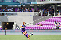 Orlando, FL - Saturday June 24, 2017: Toni Pressley during a regular season National Women's Soccer League (NWSL) match between the Orlando Pride and the Houston Dash at Orlando City Stadium.
