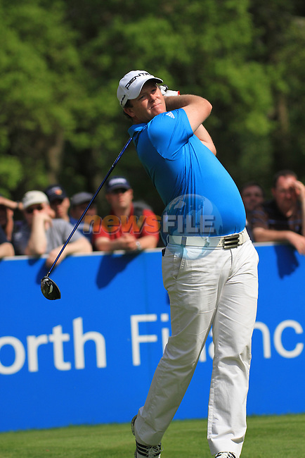 Marcus Fraser teeing from the 12th tee.during round two of the BMW PGA championship 2010 at Wentworth golf club, Surrey England..Picture Fran Caffrey/Newsfile.ie