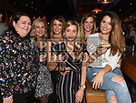 Ciara Morgan, Emma Boylan, Helen Andrews, Karen and Adrienne Moore and Bronagh Haughey enjoying the New year weekend in The Weavers. Photo:Colin Bell/pressphotos.ie