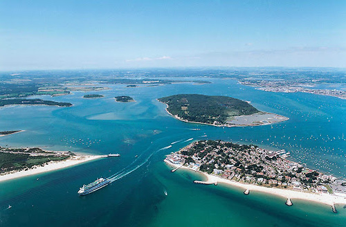 Poole Harbour in Dorset, where Gull ended her days