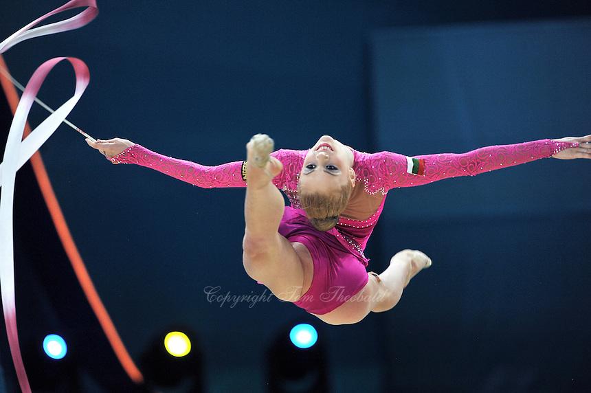 August 29, 2013 - Kiev, Ukraine - MARIA MATEVA of Bulgaria performs at 2013 World Championships.