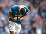 Lee Wallace scores goal no 6 and celebrates