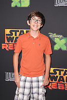 """Augie Isaac<br /> at the premiere of """"Star Wars Rebels,"""" AMC Century City, Century City, CA 09-27-14<br /> David Edwards/DailyCeleb.com 818-915-4440"""