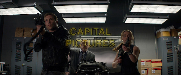 Terminator Genisys (2015) <br /> Jai Courtney, JK Simmons, Emilia Clarke<br /> *Filmstill - Editorial Use Only*<br /> CAP/KFS<br /> Image supplied by Capital Pictures