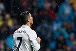 Cristiano Ronaldo of Real Madrid reacts during their La Liga match between Real Madrid and Athletic Club at the Santiago Bernabeu Stadium on 23 October 2016 in Madrid, Spain. Photo by Diego Gonzalez Souto / Power Sport Images
