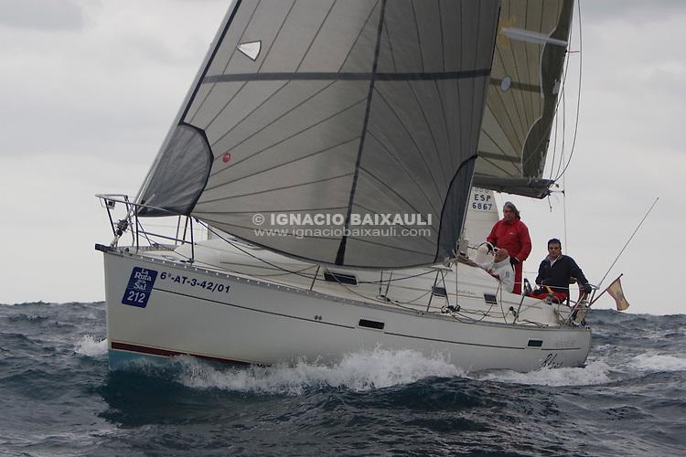 BLANC ESP 7309 OCEANIS 311 José Ramón Rubio Independiente - XXI RUTA DE LA SAL - Versión Este - Denia-Ibiza - 2008 - Real Club Náutico de Denia
