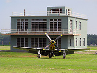 BNPS.co.uk (01202 558833)<br /> Pic: MilitaryAviationMuseum/BNPS<br /> <br /> Over There, Over There...The rebuilt control tower of RAF Goxhill has now been put back together again at the Military Aviation Muuseum in Virginia USA. <br /> <br /> A historic World War Two airfield control tower which helped protect Britain's skies has been transported 4,000 miles to a museum in the United States.<br /> <br /> The monument at RAF Goxhill in North Lincolnshire was dismantled brick by brick before the materials were shipped across the Atlantic to the Military Aviation Museum in Pungo, Virginia.<br /> <br /> The watchtower has been reassembled to look how it would have seven decades ago and is now open to visitors.<br /> <br /> Goxhill was the first airfield to be allocated to the Americans during the conflict, with General D. Eisenhower attending the handover ceremony in August 1942.<br /> <br /> The three year project to relocate the structure, which has cost about £75,000, was overseen by the museum's owner Jerry Yagen. When he heard the watchtower was languishing in a derelict state on the site of the former British airfield, he decided to save it to 'preserve its legacy'.