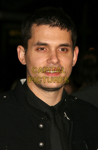 """JOHN MAYER.""""Marley & Me"""" Los Angeles Premiere held at the Mann Village Theater, Westwood, California, USA..December 11th, 2008.headshot portrait stubble facial hair.CAP/ADM/MJ.©Michael Jade/AdMedia/Capital Pictures."""