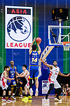 Nagoya Diamond Dolphins vs Seoul Samsung Thunders during The Asia League's The Terrific 12 Third Place match at Studio City Event Center on 23 September 2018, in Macau, Macau. Photo by Marcio Rodrigo Machado / Power Sport Images for Asia League