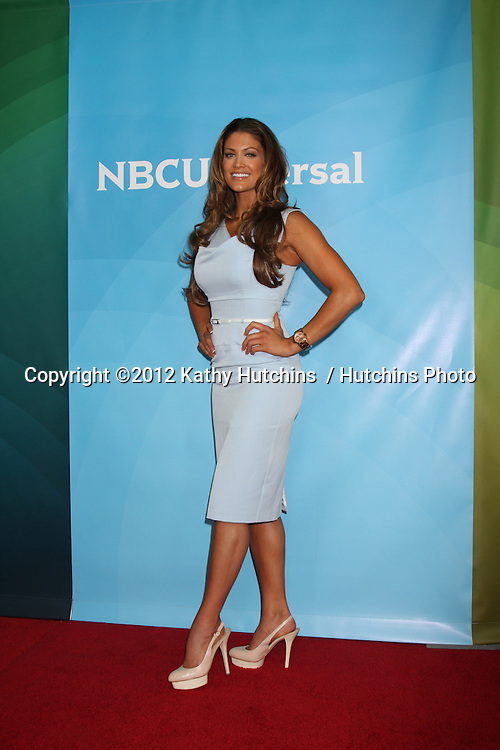 LOS ANGELES - JUL 24:  Eve Torres arrives at the NBC TCA Summer 2012 Press Tour at Beverly Hilton Hotel on July 24, 2012 in Beverly Hills, CA