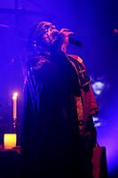LONDON, ENGLAND - MARCH 29: Attila Csihar of 'Mayhem' performing at Electric Ballroom, Camden on March 29, 2017 in London, England.<br /> CAP/MAR<br /> &copy;MAR/Capital Pictures /MediaPunch ***NORTH AND SOUTH AMERICAS ONLY***