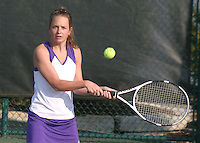 Girls Tennis vs Scecina 4-30-08