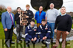 Students at the Kerry ETB getting ready for the Generation A Project at the centre in Monavalley on Friday. Kneeling l to r: Enda Surlis and Andrew Condran.<br /> Standing l to r: Christy Enright (Asst Manager ETB Training Center), Brian McMahon, Jonathan Byrne (Apprentice Plumber), Padraig Houlihan (Plumbing Instructor), Sean O&rsquo;Callaghan (Auto CAD  Instructor) and Chris Foley (Metal Fabrication Instructor).