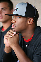 August 7, 2009:  Pitcher DeAndre Smelter (22) of the Baseball Factory team during the Under Armour All-America event at Wrigley Field in Chicago, IL.  Photo By Mike Janes/Four Seam Images