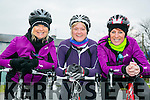 At the St. Brendan's N.S. FENIT Coastal Cycle fundraiser for St Brendan's N.S were l-r  Tina Donovan, Sheila McCarthy and Caroline Martin