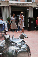 Europe/France/Provence -Alpes-Cote d'Azur/83/Var/Saint-Tropez: Brasserie des Arts