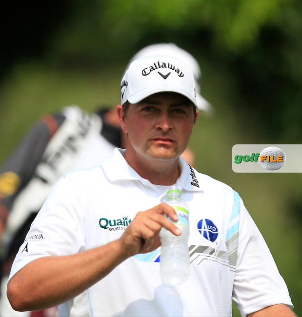 Brian Stuard (USA) on the 7th tee during Round 4 of the CIMB Classic in the Kuala Lumpur Golf &amp; Country Club on Sunday 2nd November 2014.<br /> Picture:  Thos Caffrey / www.golffile.ie