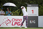 Golfer Yu-Ling Hsieh of Taiwan during the 2017 Hong Kong Ladies Open on June 9, 2017 in Hong Kong, China. Photo by Chris Wong / Power Sport Images
