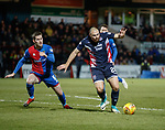 11.02.2019: Ross County v Inverness CT: Kenny van der Weg and Jamie McCart