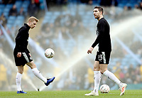 Burnley's Stephen Ward during the pre-match warm-up <br /> <br /> Photographer Rich Linley/CameraSport<br /> <br /> Emirates FA Cup Fourth Round - Manchester City v Burnley - Saturday 26th January 2019 - The Etihad - Manchester<br />  <br /> World Copyright © 2019 CameraSport. All rights reserved. 43 Linden Ave. Countesthorpe. Leicester. England. LE8 5PG - Tel: +44 (0) 116 277 4147 - admin@camerasport.com - www.camerasport.com