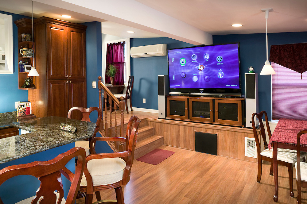 Entertainment Area with Control4 Automation