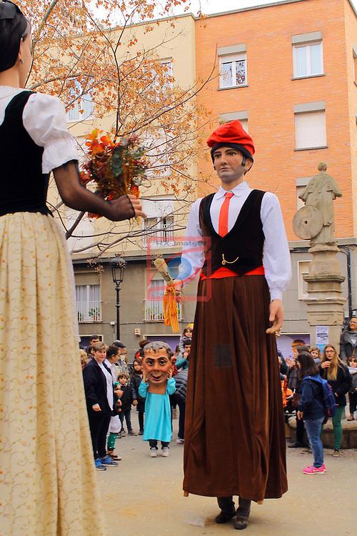 Barcelona.<br /> Festes de Sant Vicen&ccedil; de Sarria.<br /> Sarria-Sant Gervasi.