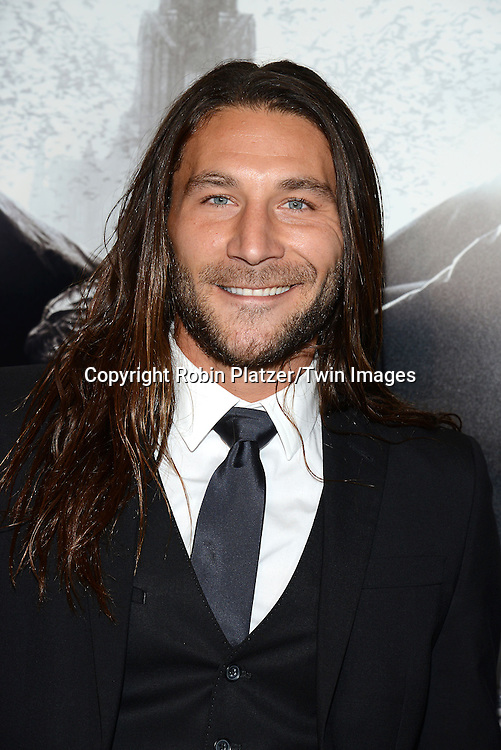actor Zach McGowan attends the Special Screening of &quot;Dracula Untold&quot;  on October 6, 2014 at The ABC Loews 34th Street Imax Theatre In New York City. <br /> <br /> photo by Robin Platzer/Twin Images<br />  <br /> phone number 212-935-0770