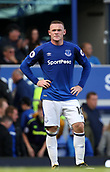 9th September 2017, Goodison Park, Liverpool, England; EPL Premier League Football, Everton versus Tottenham; Wayne Rooney of Everton looks frustrated as his team try to reduce a 0-3 deficit