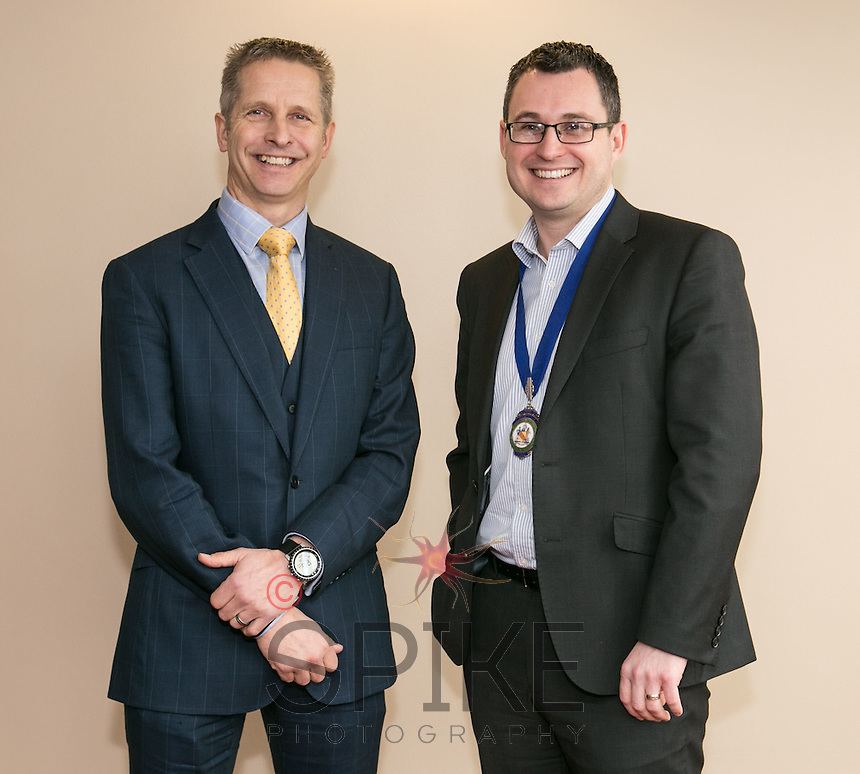 David Browning of MediCity with Nic Elliott of Actons