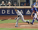 Masahiro Tanaka (Yankees),<br /> MAY 14, 2014 - MLB :<br /> Masahiro Tanaka of the New York Yankees runs to first base during the Major League Baseball game against the New York Mets at Citi Field in Flushing, New York, United States. (Photo by AFLO)