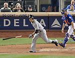 Masahiro Tanaka (Yankees),<br /> MAY 14, 2014 - MLB :<br /> Masahiro Tanaka of the New York Yankees runs to first base during the Major League Baseball game against the New York Mets at Citi Field in Flushing, New York, United States. (Photo by AFLO)