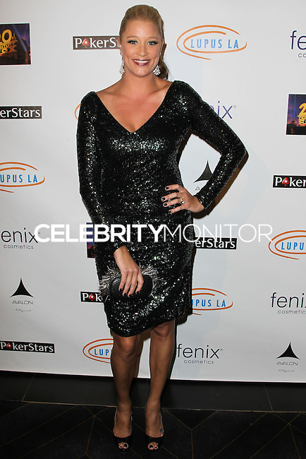 HOLLYWOOD, LOS ANGELES, CA, USA - SEPTEMBER 18: Kristen Renton arrives at the 'Get Lucky For Lupus' 6th Annual Poker Tournament held at Avalon on September 18, 2014 in Hollywood, Los Angeles, California, United States. (Photo by Celebrity Monitor)