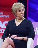 Administrator of the Small Business Administration Linda E. McMahon speaks at the Conservative Political Action Conference (CPAC) at the Gaylord National Resort and Convention Center in National Harbor, Maryland on Thursday, February 28, 2019.<br /> Credit: Ron Sachs / CNP