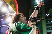 SAO PAULO, 19 DE JUNHO DE 2013. SHOW RPM  - CONCENTRA SP - VALE DO ANHANGABAU. O grupo RPM  durante apresentação no evento Concentra SP. A cantora se apresentou após jogo Brasil e México, no Vale do Anhangabaú. FOTO ADRIANA SPACA / BRAZIL PHOTO PRESS.