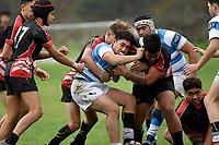 Hurricanes U15 Rugby - St Patrick's Silverstream v Manukura at St. Patrick's College, Silverstream, Upper Hutt, New Zealand on Friday 6 September 2019. <br /> Photo by Masanori Udagawa. <br /> www.photowellington.photoshelter.com