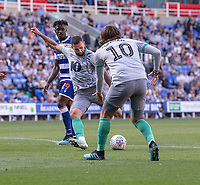 Blackburn Rovers' Bradley Johnson takes a shot a goal<br /> <br /> Photographer David Horton/CameraSport<br /> <br /> The EFL Sky Bet Championship - Reading v Blackburn Rovers - Saturday 21st September 2019 - Madejski Stadium - Reading<br /> <br /> World Copyright © 2019 CameraSport. All rights reserved. 43 Linden Ave. Countesthorpe. Leicester. England. LE8 5PG - Tel: +44 (0) 116 277 4147 - admin@camerasport.com - www.camerasport.com