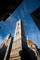 The Duomo (Dome), Campanile and Basilica, Florence, Italy, Europe, 2007, ©Stephen Blake Farrington