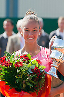 20-08-11, Tennis, Amstelveen, Nationale Tennis Kampioenschappen, NTK, Lesley Kerkhove wint de NTK