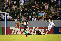 Carson, California - Wednesday Aug. 27, 2014: The LA Galaxy defeated D.C. United 4-1 in a Major League Soccer (MLS) match at StubHub Center stadium.