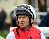 Jockey Jimmy Quinn during Evening Racing at Salisbury Racecourse on 11th June 2019