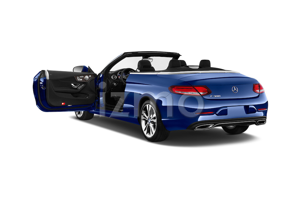 Car images of 2018 Mercedes Benz C-Class C-300 2 Door Convertible Doors