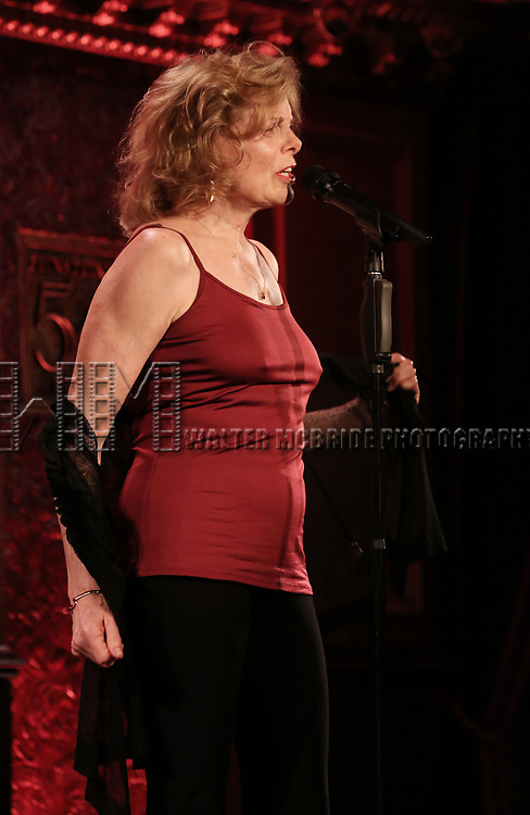 Carole Demas previews her new show 'The Broadhurst at 100' at Feinstein's/54 Below on July 17, 2017 in New York City.