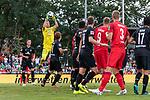20.07.2019, Heinz-Dettmer-Stadion, Lohne, GER, Interwetten Cup, SV Werder Bremen vs 1. FC Koeln<br /> <br /> im Bild<br /> Jiri Pavlenka (Werder Bremen #01) mit Parade nach Eckstoss, <br /> <br /> Foto © nordphoto / Ewert