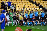 A League - Wellington Phoenix v Melbourne Victory FC at Westpac Stadium, Wellington, New Zealand on Wednesday 10 January 2018. <br /> Photo by Masanori Udagawa. <br /> www.photowellington.photoshelter.com