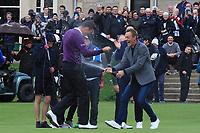 Victor Perez (FRA) wins the Alfred Dunhill Links Championship 2019 at St. Andrews Golf CLub, Fife, Scotland. 29/09/2019.<br /> Picture Thos Caffrey / Golffile.ie<br /> <br /> All photo usage must carry mandatory copyright credit (© Golffile | Thos Caffrey)