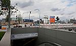 Hamburg - Germany, August  10, 2013 -- Official opening of the Baakenhafenbrücke (bridge over Baakenhafen) with i.a. the First Mayor of Hamburg, Olaf Scholz; Baakenhafen quarter is part of the development project HafenCity in the harbour / port of Hamburg; here, underground station 'HafenCity Universitaet' (University) of the new metro line -- Photo: © HorstWagner.eu
