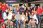 Catherine O'Bierne, Castleisland  seated centre who celebrated her 21st birthday with her family and friends in Hickey's bar Castleisland on Friday night..