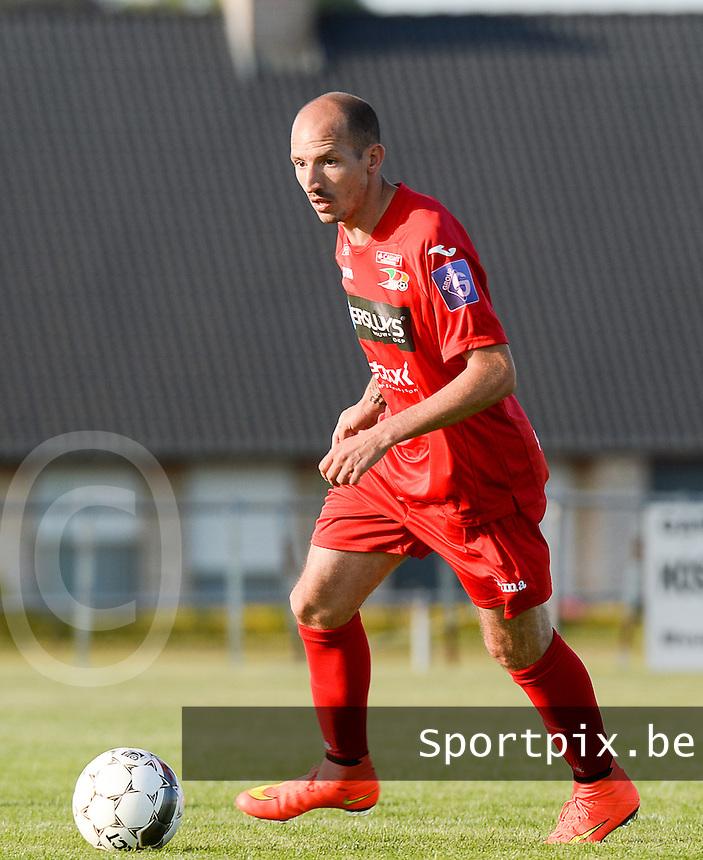 KV Oostende : Franck Berrier<br /> foto VDB / BART VANDENBROUCKE